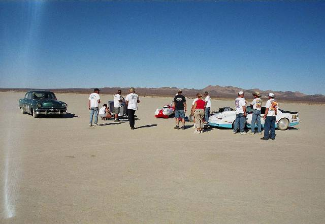 Rod Riders at El Mirage October 2002 7