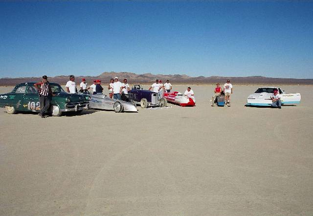 Rod Riders at El Mirage October 2002 9