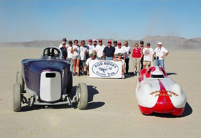 Rod Riders at El Mirage October 2002 1